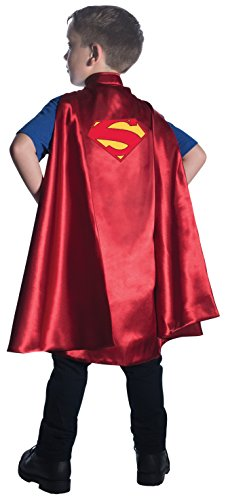 Rubie's Costume DC Superheroes Superman Deluxe Child Cape (Comic Book Heroines Costumes)