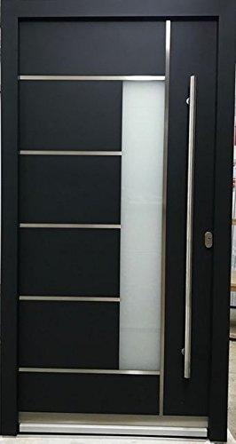 Haustür Anthrazit haustür welthaus wh75 standardtür aluminium mit kunststoff la 40 tür