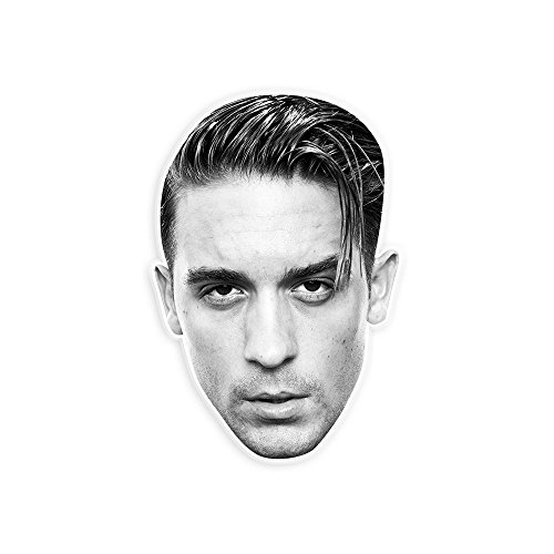 "Serious G Eazy Mask by RapMasks - 12"" x 9"" Waterproof Laminated"
