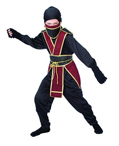 Samuraii Ninja Costume - Green Ninja Boys Costumes