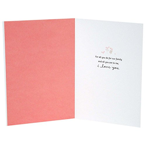 Hallmark Signature Mother's Day Love Greeting Card (For All You Do for Our Family) Photo #2