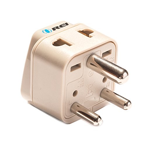 OREI Grounded Universal 2 in 1 Plug Adapter - Plug Adaptor India