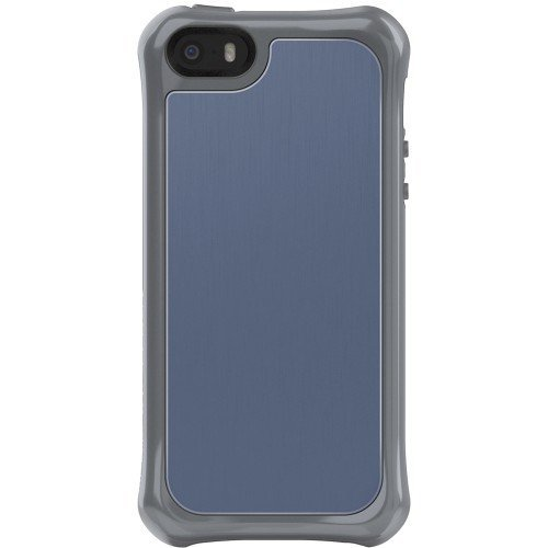 Ballistic - Tungsten Slim Case for Apple® Iphone® 5 and 5s - Gray/blue