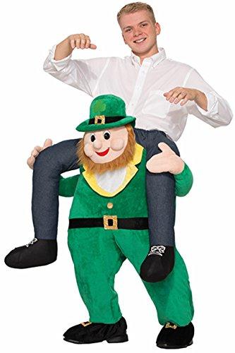 Forum Novelties Men's Once Upon A Leprechaun Costume, Green, (Patrick Halloween Costumes)