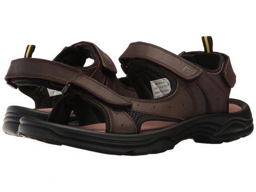 Propt(プロペット) メンズ 男性用 シューズ 靴 サンダル フラット Daytona - Brown [並行輸入品] B07BM3LY43 9.5 M (D)