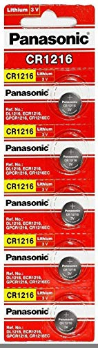Panasonic CR1216 3 Volt Lithium Coin Battery (5 Batteries) (Lithium Ion Battery Import Regulations In India)
