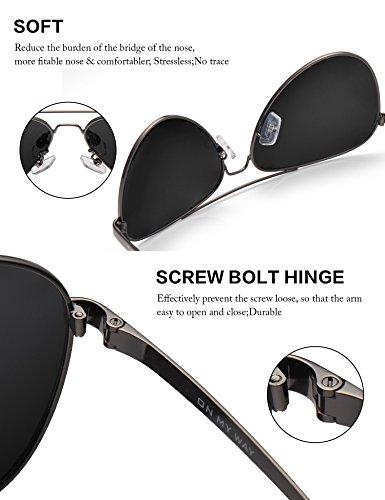 Para luenx Hombres Mujeres sol y polarizadas nbsp; con Wayfarer de gafas Xrf1qX