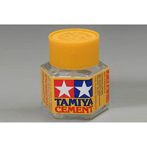 Tamiya America, Inc Plastic Cement 20ml, TAM87012