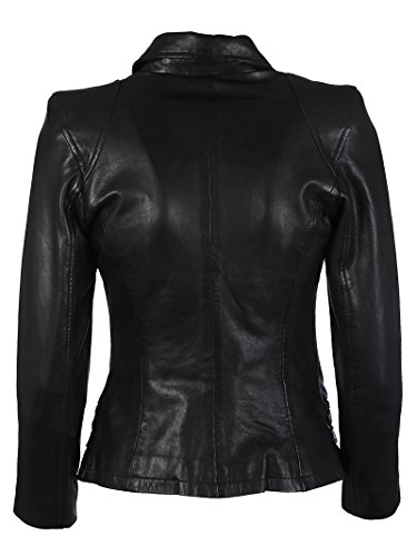 Sword Giacca Donna Outerwear Nero 2022realtrust Pelle pRnpqafFr
