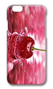MOKSHOP Adorable cherry fruit Hard Case Protective Shell Cell Phone Cover For Apple Iphone 6 (4.7 Inch) - PC 3D