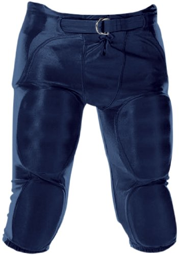 Alleson Athletic Adult Unisex 688D Solo Integrated Football Pants Navy,Large ()