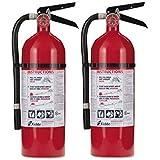 Kidde Pro 210 Fire Extinguisher, 4lb, 2-A, 10-B:C - 2 Extinguisher
