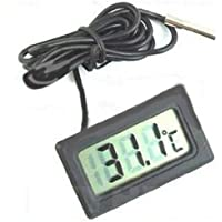 Digital LCD Fridge Freezer Thermometer Temperature M010072 by
