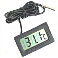 Digital LCD Fridge Freezer Thermometer Temperature M010072 by cool2day