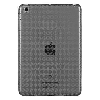 (Argyle Flexi Gel Case for iPad Mini - Smoke)