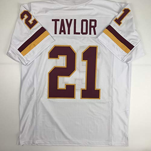 (Unsigned Sean Taylor Washington White Custom Stitched Football Jersey Size Men's XL New No Brands/Logos)