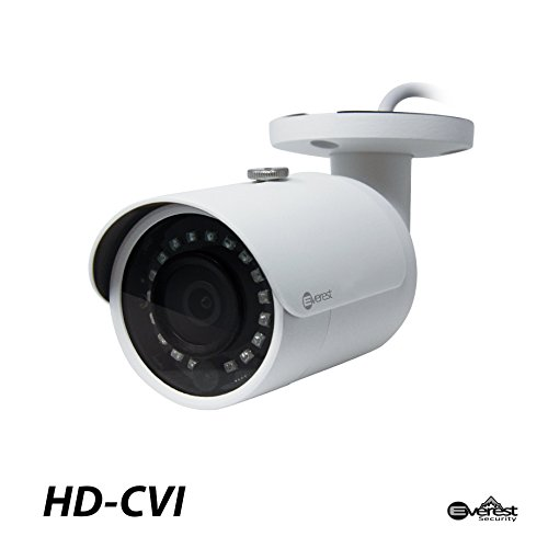 Everest Security 2 Megapixel HD-CVI Mini Bullet Camera 3.6mm Lens Starlight Technology with Smart IR 1080P for HD-CVI ONLY Surveillance CCTV For Sale