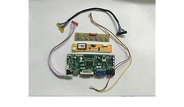 DVI HDMI LCD Controller led Board lvds Kit For LP171WP4 B3 VGA Audio TL