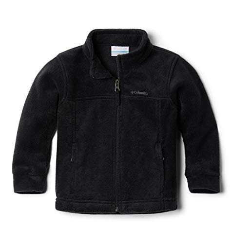 Columbia Little Boys' Steens MT II Fleece Jacket, Black, 4T