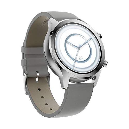 chollos oferta descuentos barato TicWatch C2 Plus 1GB RAM Wear OS de Google GPS NFC Pago Reloj inteligente a prueba de agua y polvo IP68 dos correas incluidas compatible con iOS y Android Platinum