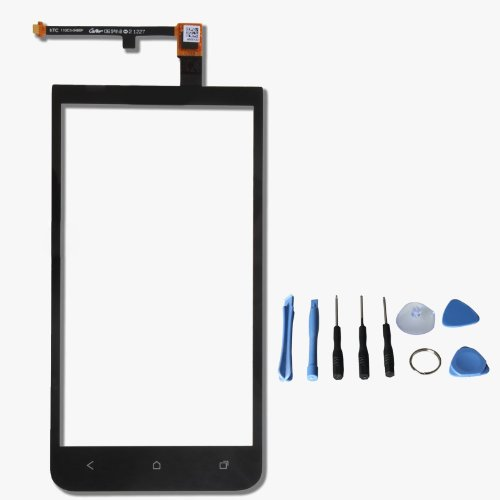 Touch Screen Glass Digitizer For HTC Sprint EVO 4G LTE ONE XC X720D with free tools (Not include LCD) (Black)