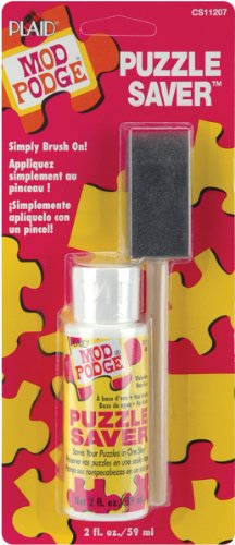 Mod Podge Puzzle Saver Glue (2-Ounce), CS11207, 2 Ounce, Original Version