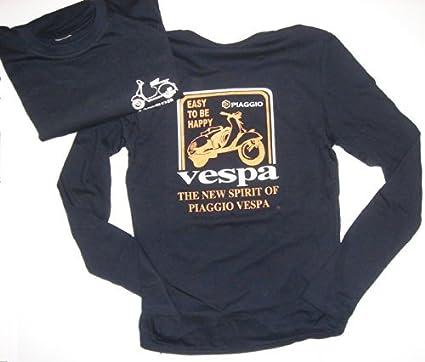 TUCUMAN AVENTURA - Camisetas Vespa Chica Marino Manga Larga: Amazon.es: Deportes y aire libre