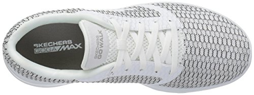 Joy Women's Performance Gray Go 15606 White Skechers R7tqdxq