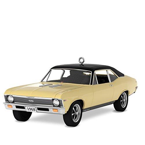 Collectible Tree Ornament - Hallmark Keepsake Christmas Ornament 2018 Year Dated, Classic American Cars 1968 Chevrolet Nova SS, Metal