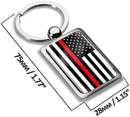 Llavero de Metal en 3D, diseño de Bandera de USA Estados ...