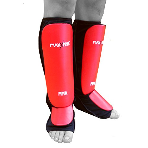MaxxMMA Mixed Martial Arts Shin Guards L/XL