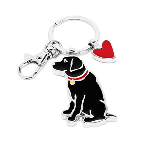 Marc Tetro Black Lab Keyring