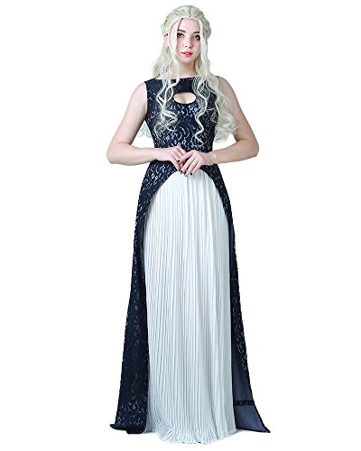 miccostumes Women's Khaleesi Dress Cosplay Costume Halloween