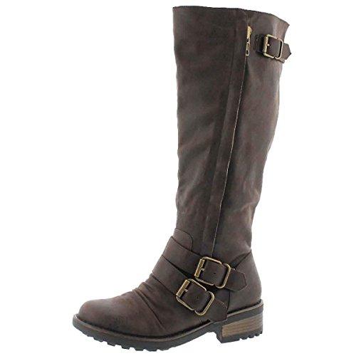 III Dk Women's Riding Brown Boot SoftMoc Blixi Bqw7UZzS