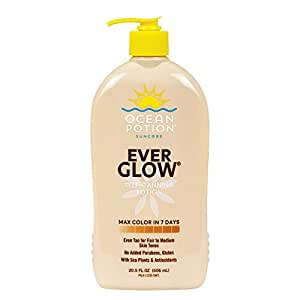 Ocean Potion Ever Glow Self Tanning Lotion 20 5 Ounce Beauty Amazon Com