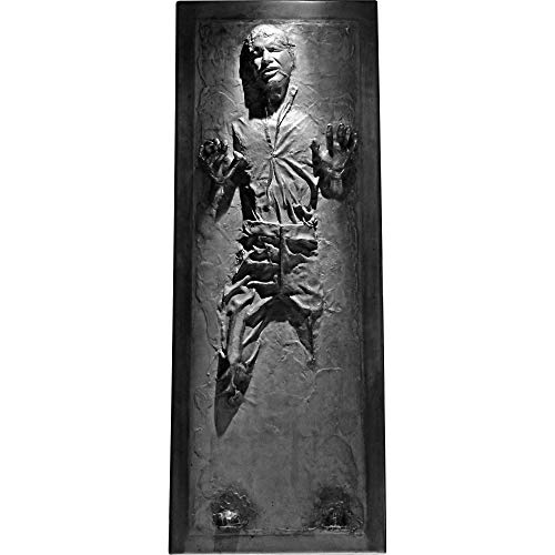 FATHEAD Han Solo in Carbonite - Life-Size Officially Licensed Star Wars Removable Wall Decal Multicolor by FATHEAD (Image #2)