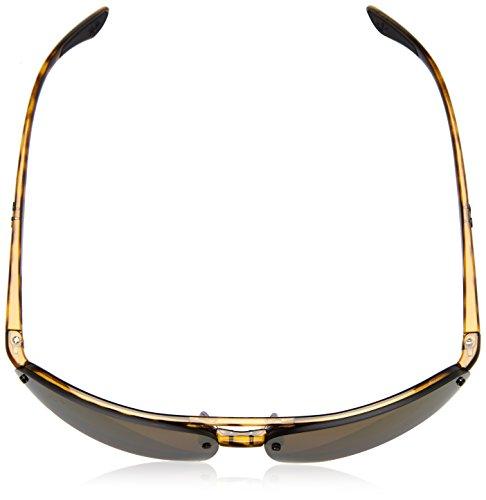 ... Ray-Ban lunettes sans monture aviator chromance en miroir dégradé or  havana violet polarisé RB4293CH 53af88095fe1