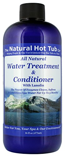 Cloudy Hot Water Tub (The Natural Hot Tub Company Water Treatment and Conditioner)