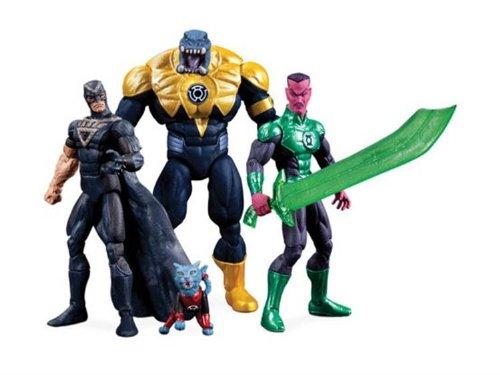 DC Lantern Sinestro Arkillo Dex Starr