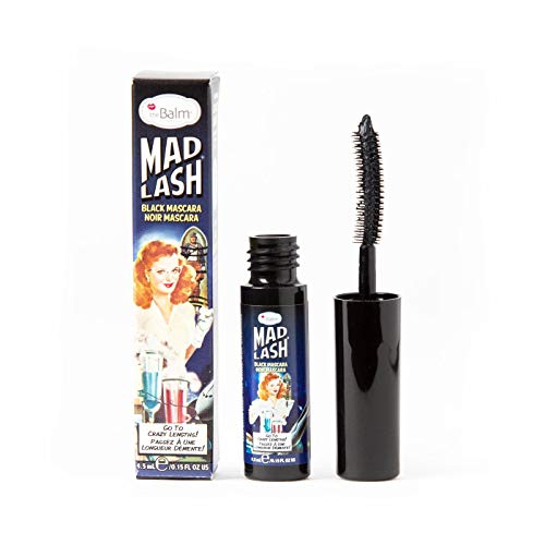 theBalm Mad Lash Voluminous Mascara, Black, Travel-Size