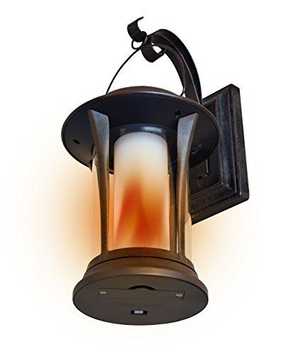 EcoThink 155034 Solar LED Flame Lantern by EcoThink