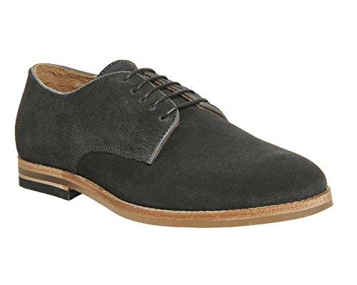 Hudson - Zapatos de cordones para hombre Grey Suede Exclusive