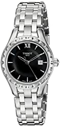 Tissot Women's T0720101105800 Lady Analog Display Swiss Quartz Silver Watch