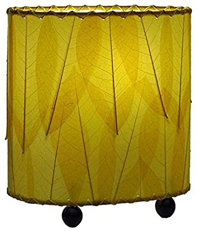 Multicolor Commercial Lighting Eangee 531-m Contemporary Guyabano Leaf Indoor Table Lamp