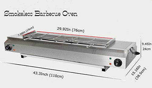 Electric Smokeless Barbecue Oven No Fired BBQ Grill Oven