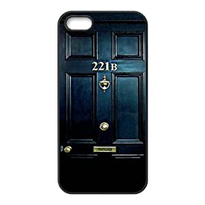 221B Door Cell Phone Case for iPhone 5S