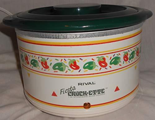(Rival Fiesta Crock-Ette 3200 1 quart Slow Cooker Crock Pot)
