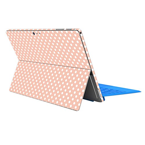 ProElife Protective Decal Sticker Ultra Slim Surface Decal Skin for 12.3'' Microsoft Surface Pro 6 2018 Surface Pro 5 2017 Surface Pro 4 12.3-Inch Decoration Protector (Dot)