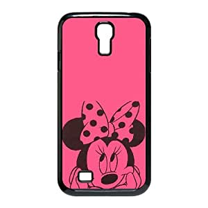 Samsung Galaxy S4 9500 Cell Phone Case Black Disney Mickey Mouse Minnie Mouse zeim