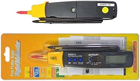 KEKEYANG Measures Precise instrument AutoRange Pen Style Digital Multimeter DMM AC DC Volt Amp Ohm Integrated Automotive Tester Resistance Continuity EM3213 Digital Multimeter